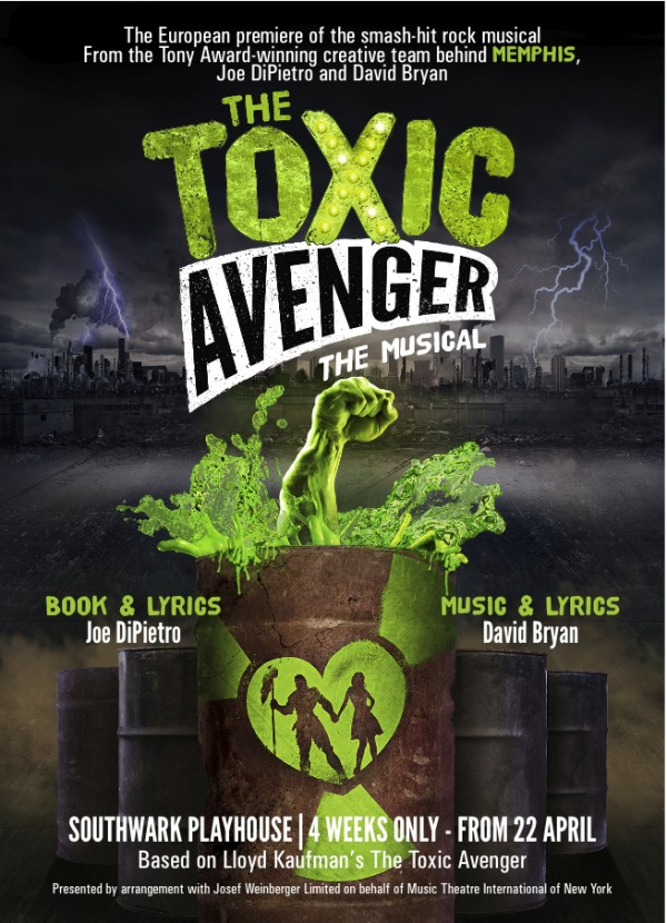 The Toxic Avenger - The Musical - Southwark Playhouse 2016