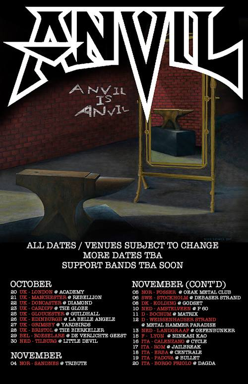 Anvil - Anvil Is Anvil - 2016 Promo