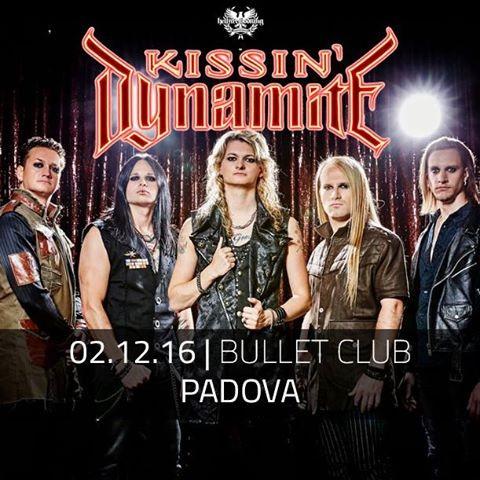 Kissin Dynamite - Bullet Club 2016 - Promo