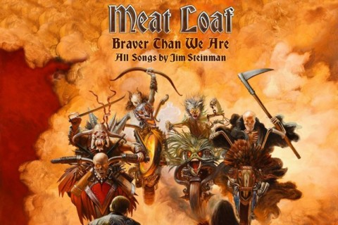 Meat Loaf - Braver Than We Are - Album Cover