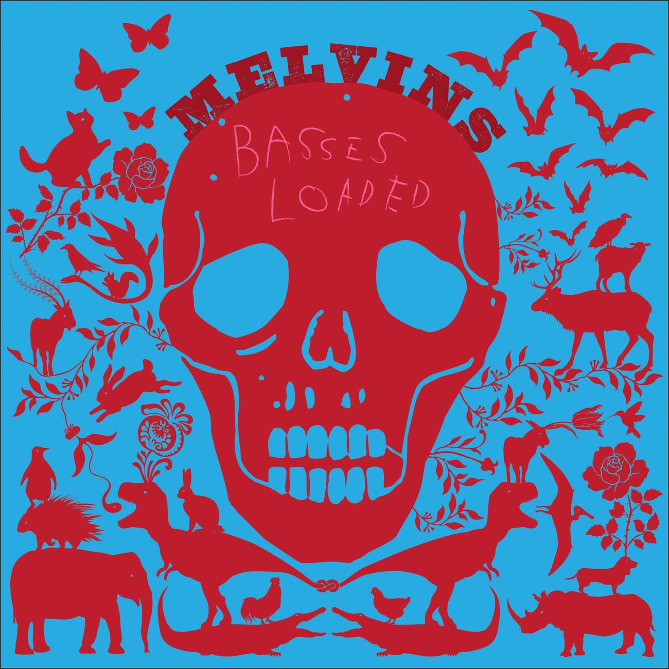Melvins - Basses Loaded - Album Cover