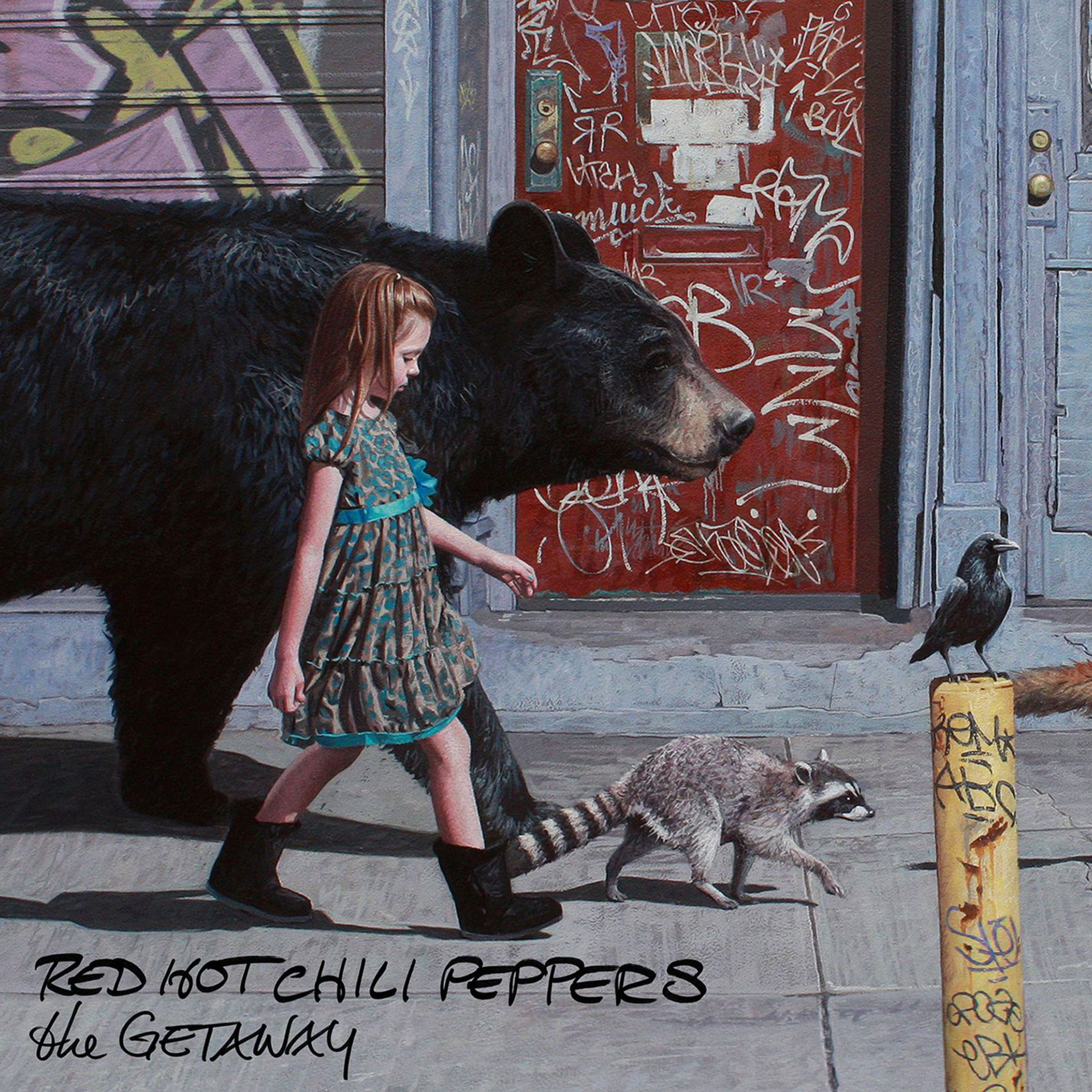 Red Hot Chili Peppers - The Getaway - Album Cover
