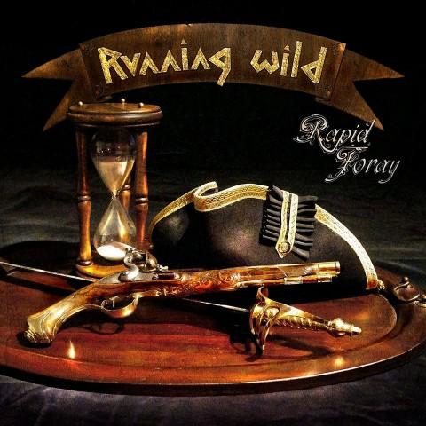 Running Wild - Rapid Foray - Album Cover