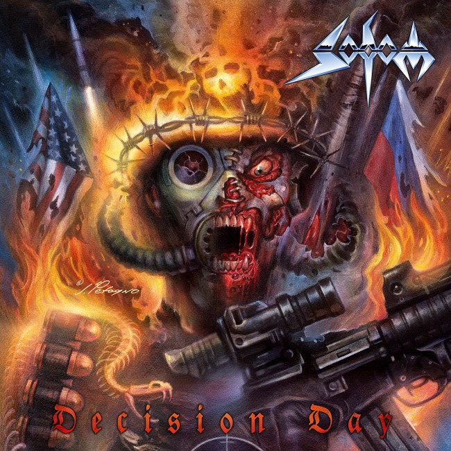 Sodom - Decision Day - Album Cover