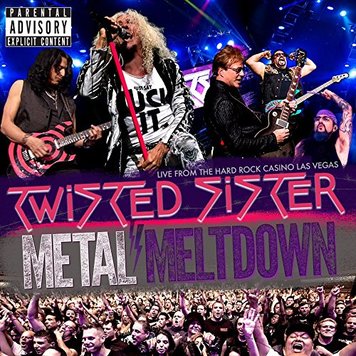 Twisted Sister - Metal Meltdown - Hard Rock Casino - Las Vegas - 2016 - DVD Cover