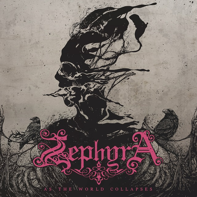 Zephyra - As The World Collapses - Album Cover
