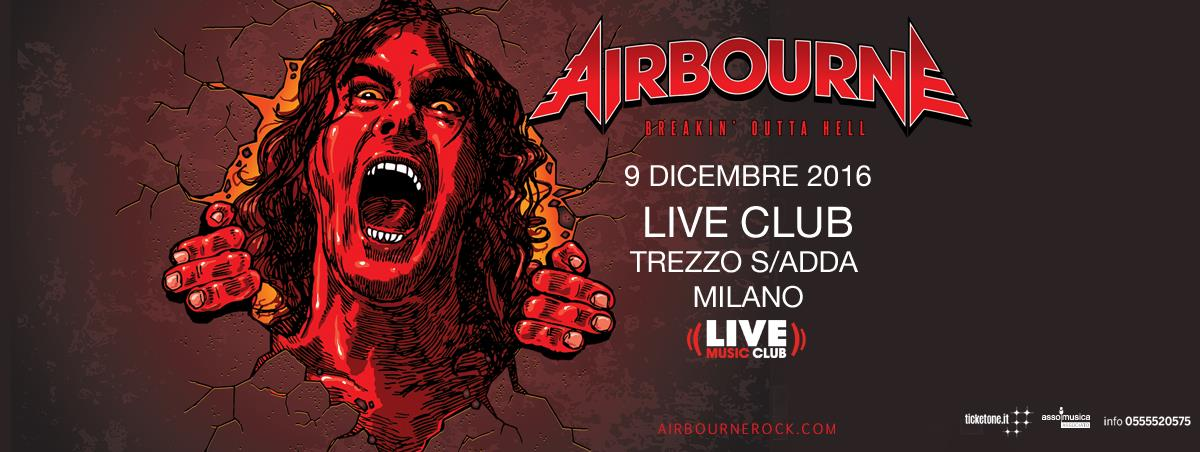 Airbourne - Live Club 2016 - Promo