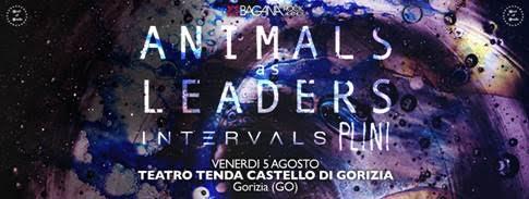 Animals As Leaders - Teatro Tenda Castello 2016 - Promo
