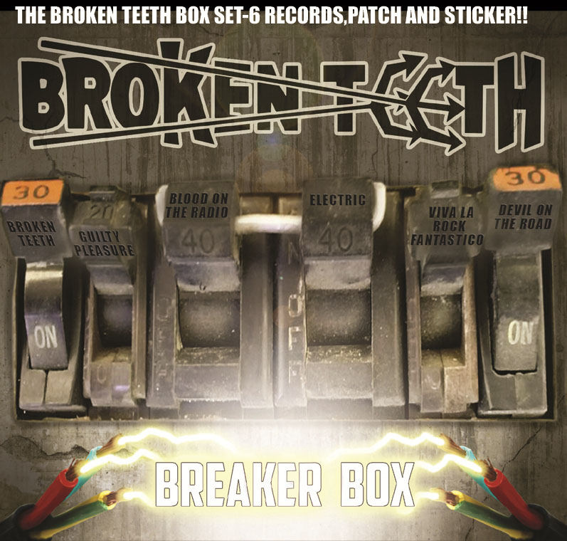 Broken Teeth - Breaker Box - Album Cover
