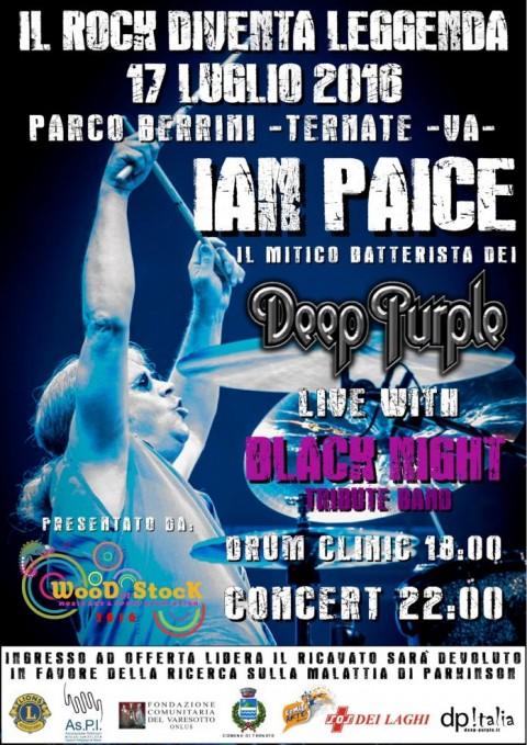 Ian Paice - Black Night - Wood In Stock 2016 - Promo