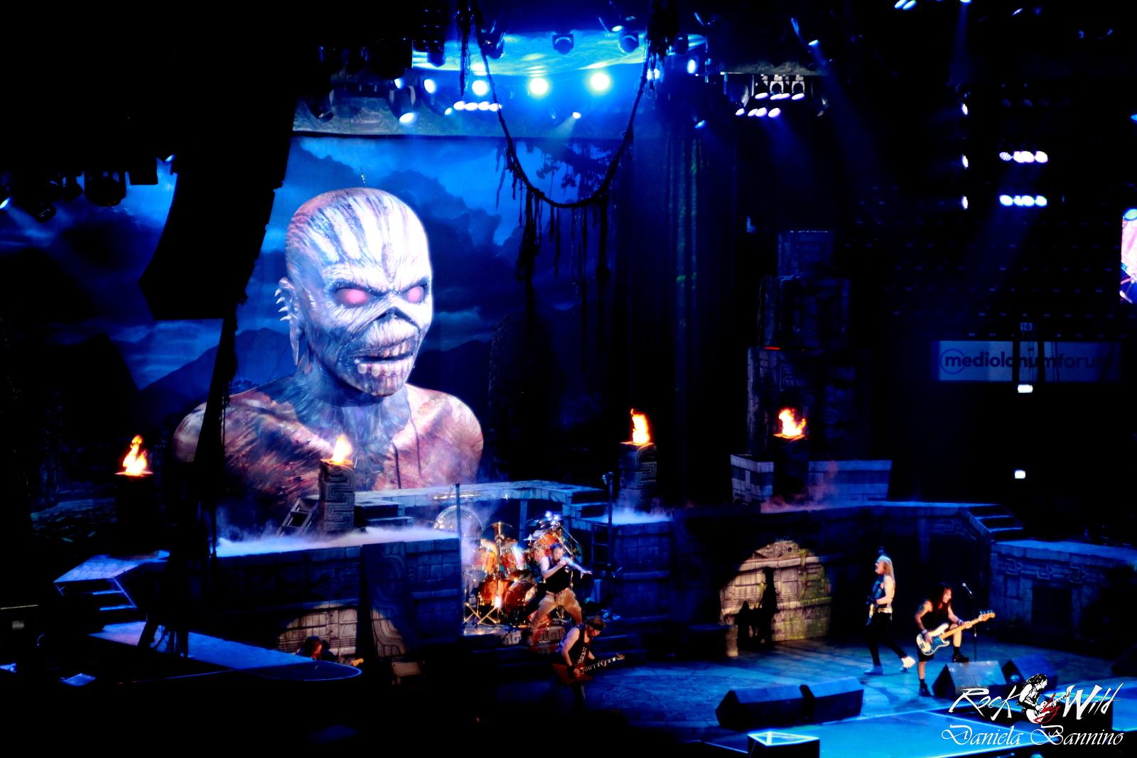 Iron Maiden @ Mediolanum Forum - 22 07 2016