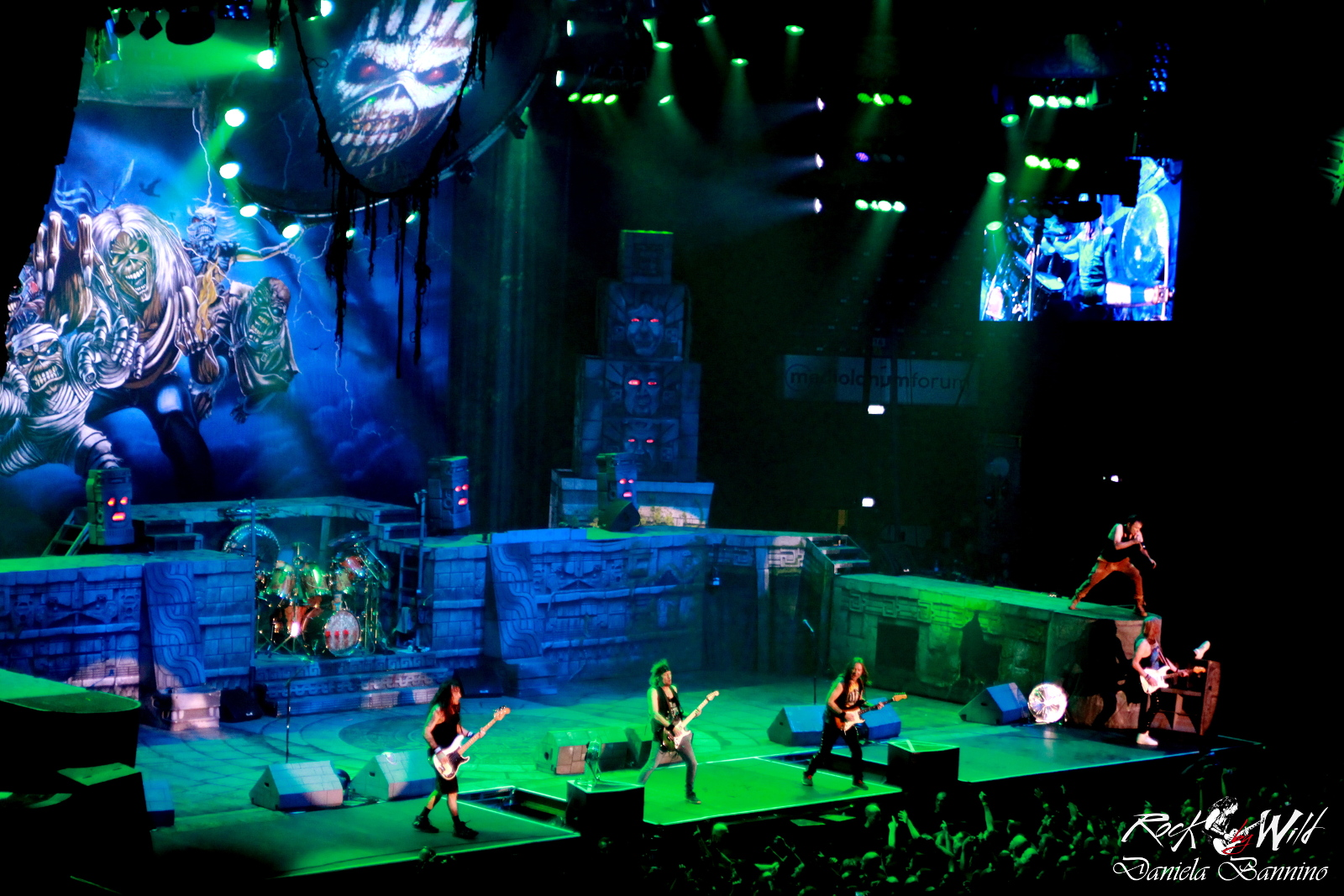 Iron Maiden + Ravenage: la Vergine di Ferro ha ancora tanto da dire @ Forum Assago – 22 07 2016