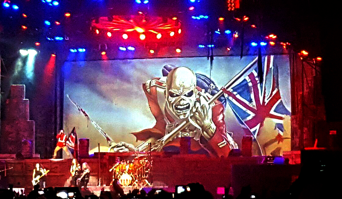 Iron Maiden @ Sonisphere 2016 - Rock in Roma - 24 07 2016