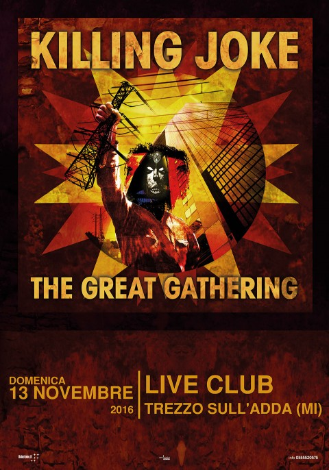 Killing Joke - The Great Gathering Tour 2016 - Promo