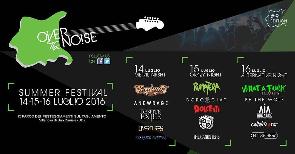Over The Noise - Summer Festival 2016 - Promo