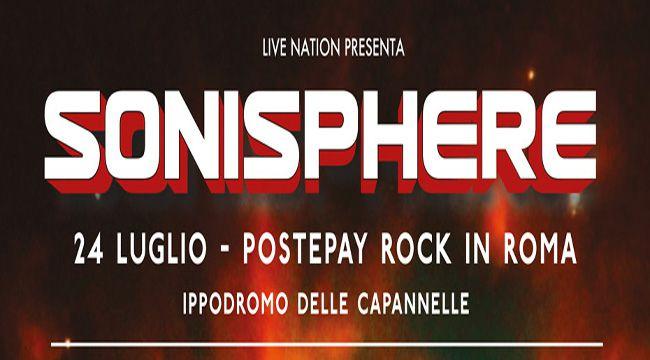 Postepay Rock In Roma - Sonisphere 2016 - Promo