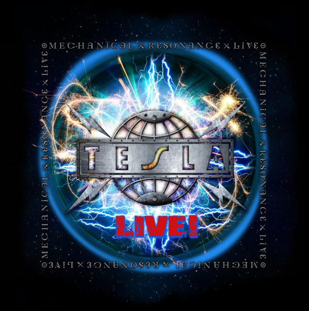 Tesla - Mechanical Resonance Live - Album Cover