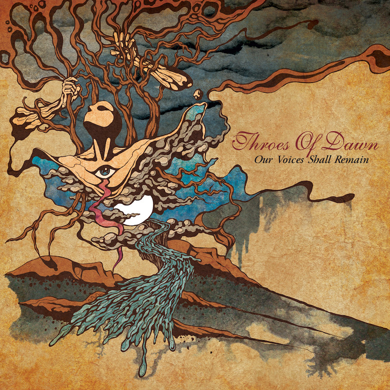 Throes Of Dawn - Our Voices Shall Remain - Album Cover