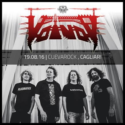 Voivod - Cuevarock - 2016 - Promo
