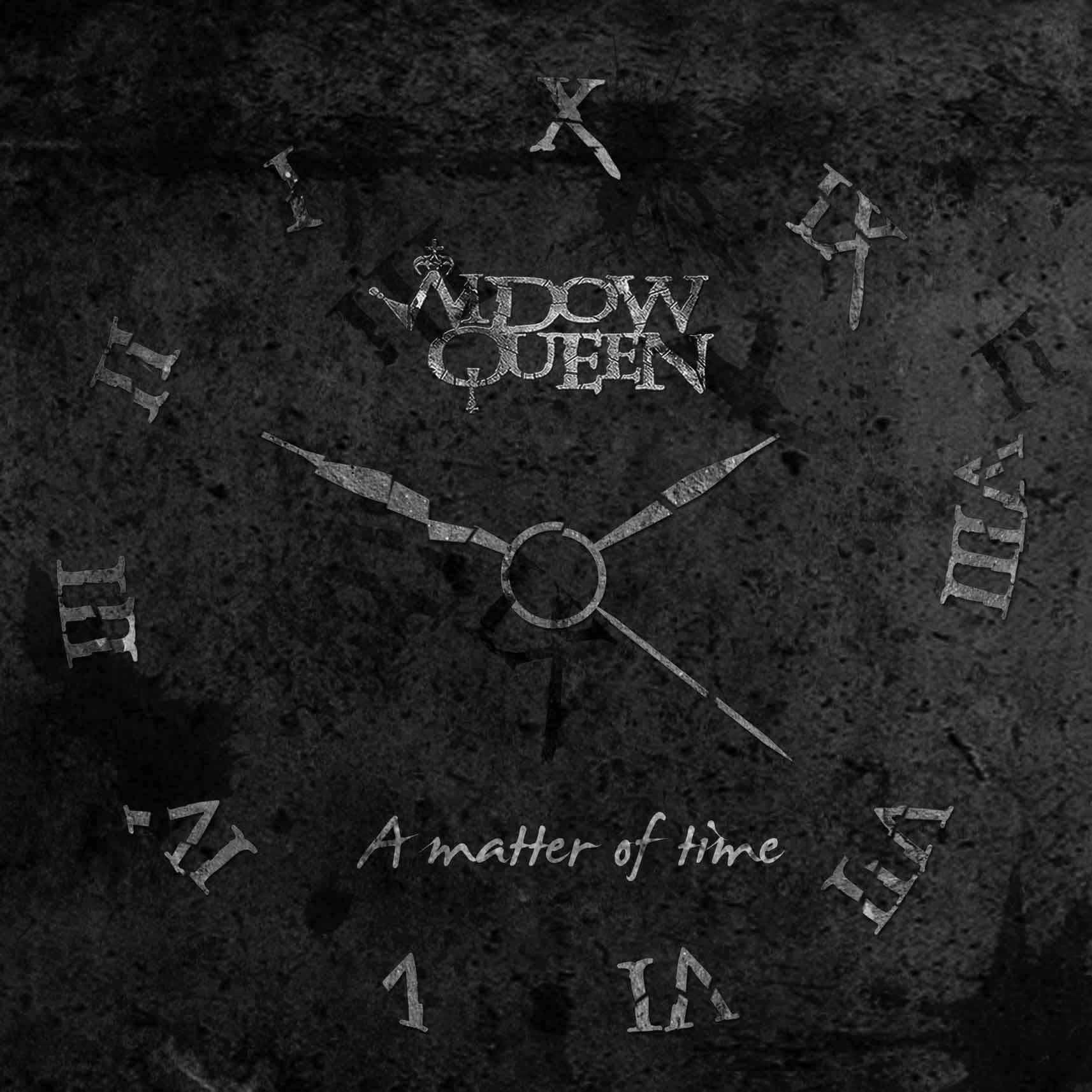 Widow Queen - A Matter Of Time - Cover Album