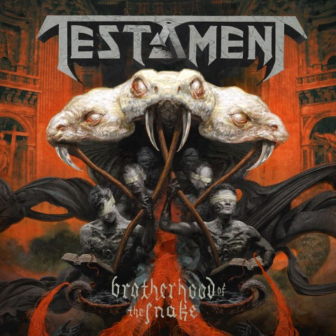 Testament - The Brotherhood Of The Snake - Album Cover
