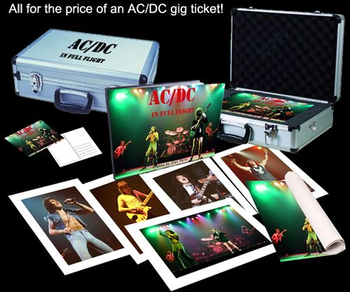 AC/DC - In Full Flight - Book Cover