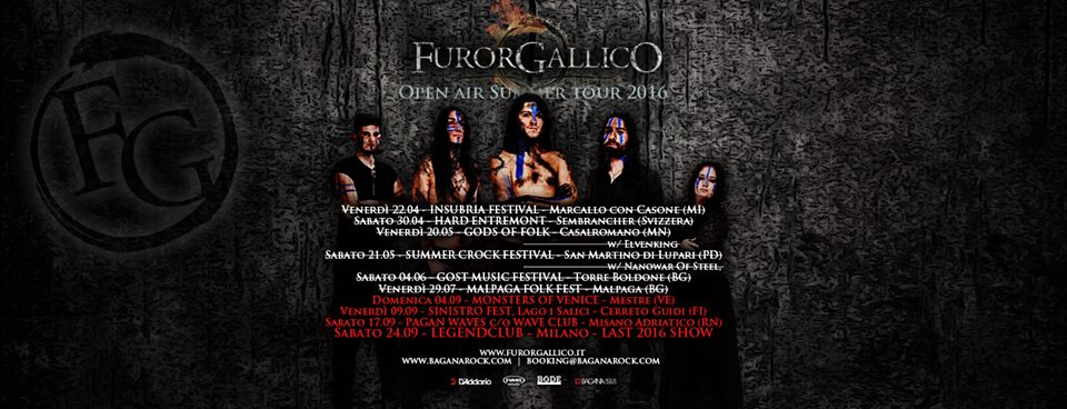 Furor Gallico - Summer Tour 2016 - Promo