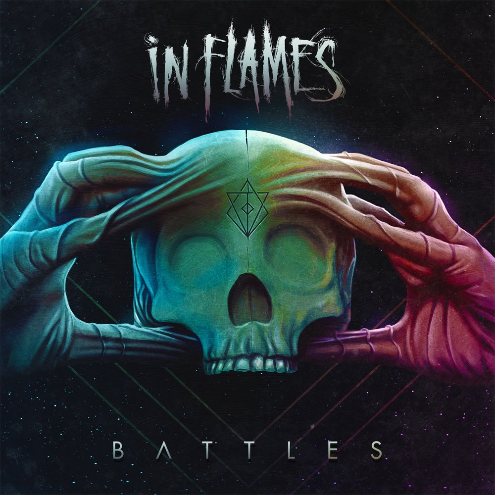 In Flames - Battles - Album Cover