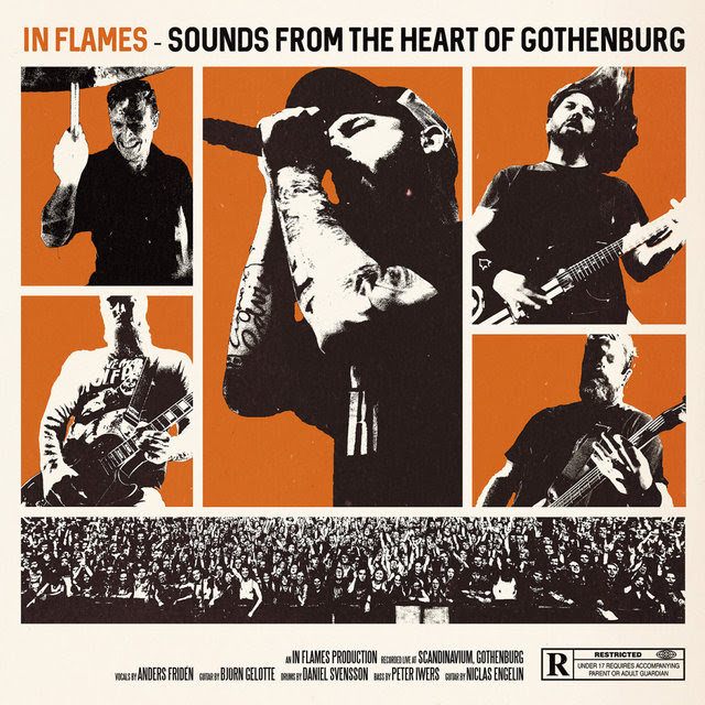 In Flames - Sounds From The Heart Of Gothenburg - Album Cover