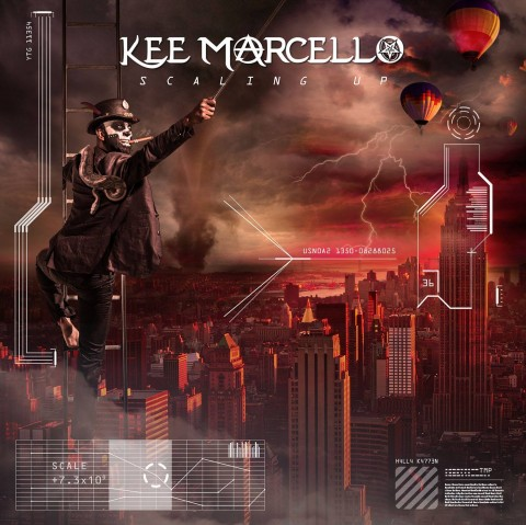 Kee Marcello - Scaling Up - Album Cover