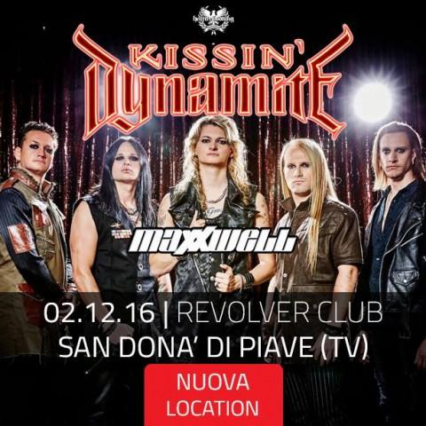 Kissin - Dynamite - Maxxwell - Revolver Club 2016 - Promo