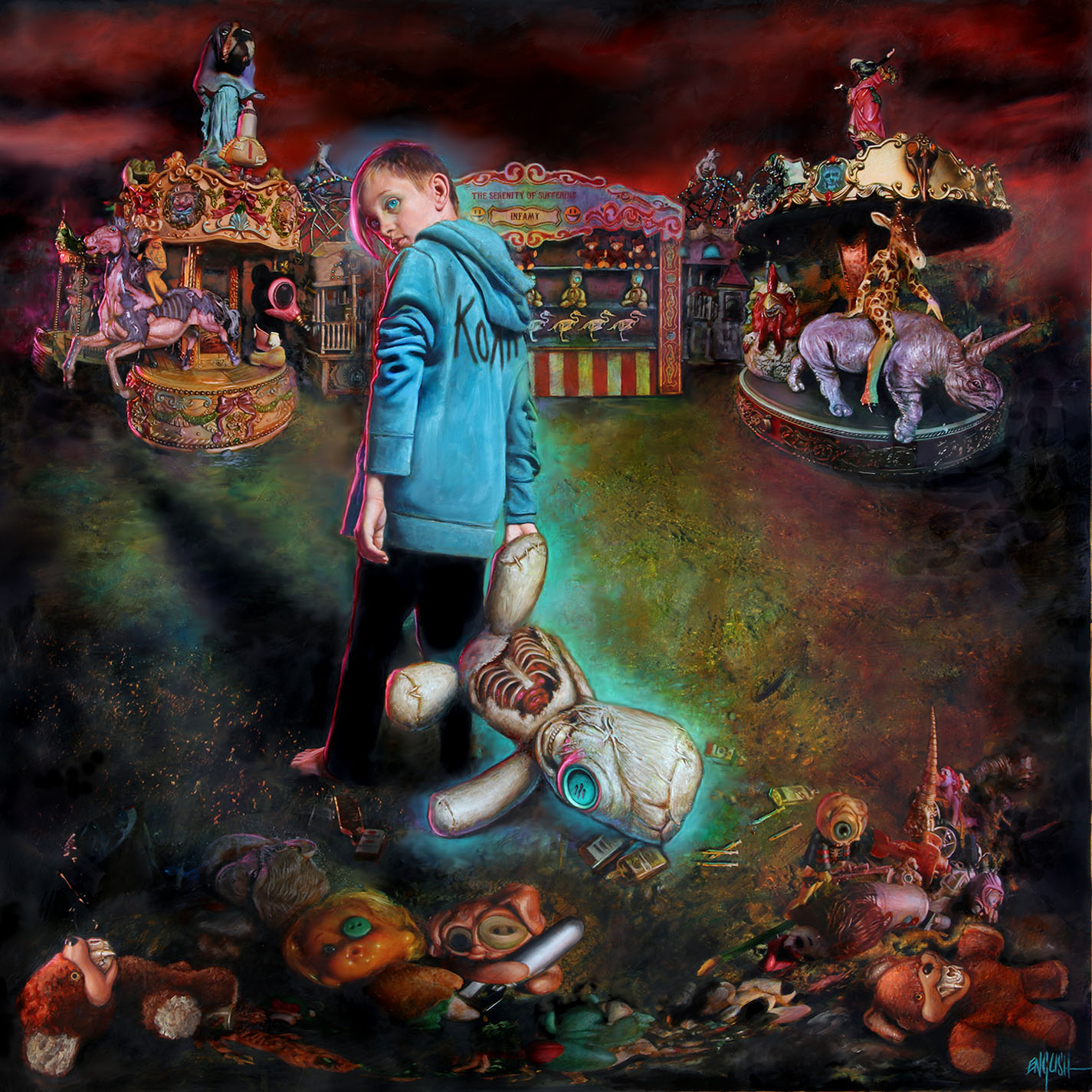Korn - The Serenity Of Suffering - Album Cover