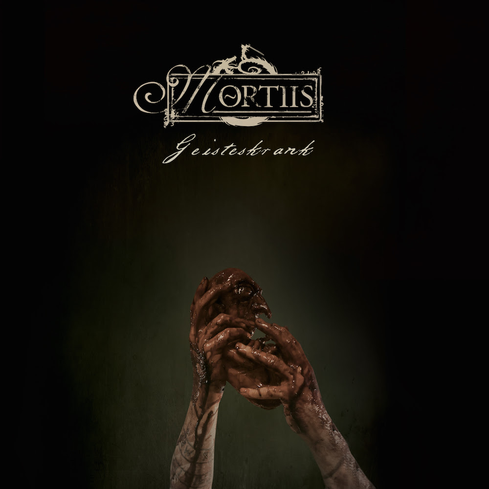 Mortiis - Geisteskrank - Single Cover
