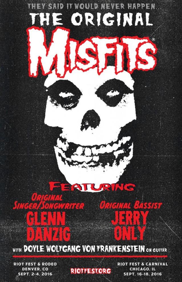 The Original Misfits - Glenn Danzig - Jerry Only - Doyle Wolfgang Von Frankestein - Promo