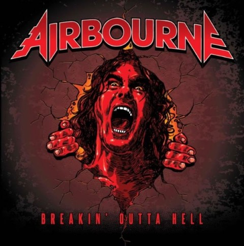 Airbourne - Breakin Outta Hell - Album Cover