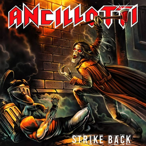 Ancillotti - Strike Back - Album Cover