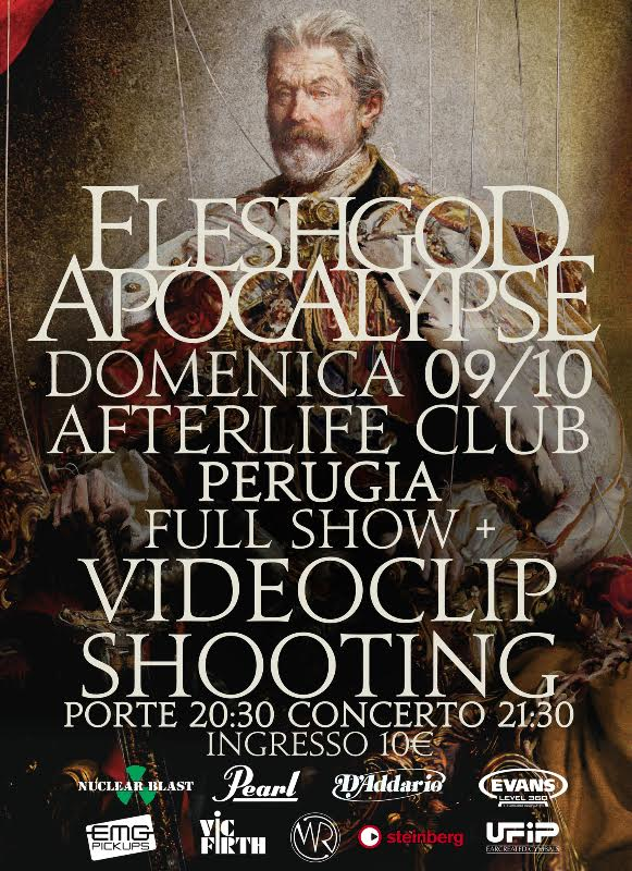 Fleshgod Apocalypse - Afterlife Club 2016 - Promo