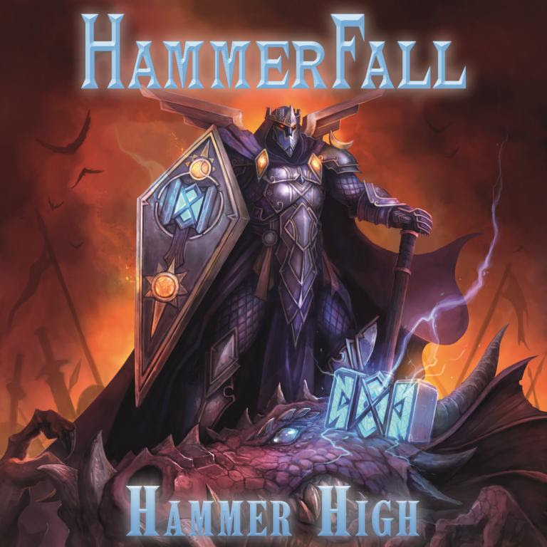 Hammerfall - Hammer High - Single Cover