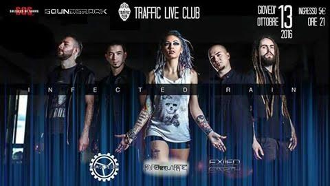 Infected Rain - Traffic Live 2016 - Promo