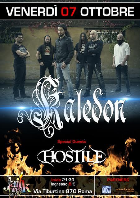 Kaledon - Hostile - Jailbreak Live Club 2016 - Promo