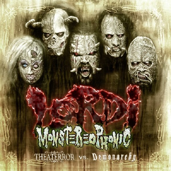 Lordi - Monstereophonic Theaterror Vs Demonarchy - Album Cover