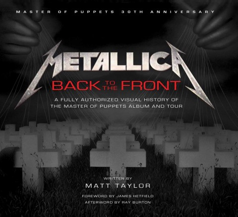 Metallica - Back To The Front - Book Cover