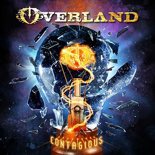 Overland - Contagious - Album Cover