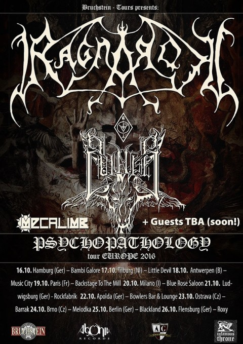 Ragnarock - Psychopathology Tour Europe 2016 - Promo