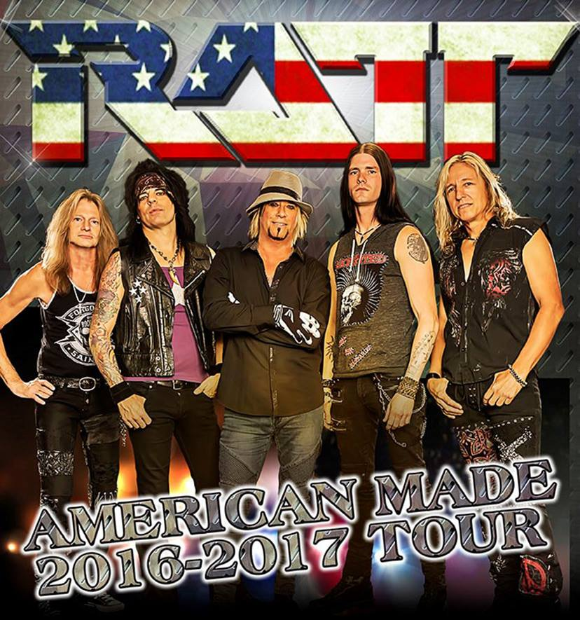 Ratt - American Made - Tour 2016 - 2017