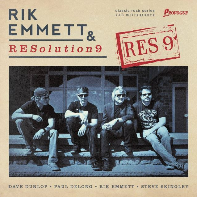 Rick Emmett - & - Resolution 9 - Res 9 - Album Cover