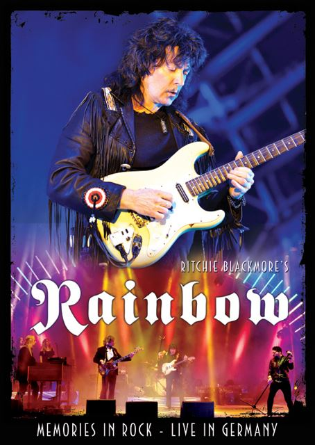 Ritchie Blacmore' s Rainbow - Memories In Rock Live In Germany - DVD Cover