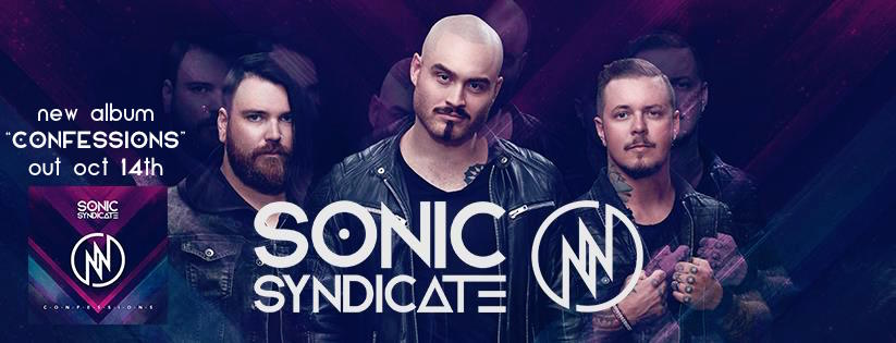 Sonic Syndicate - Confessions - Album Cover