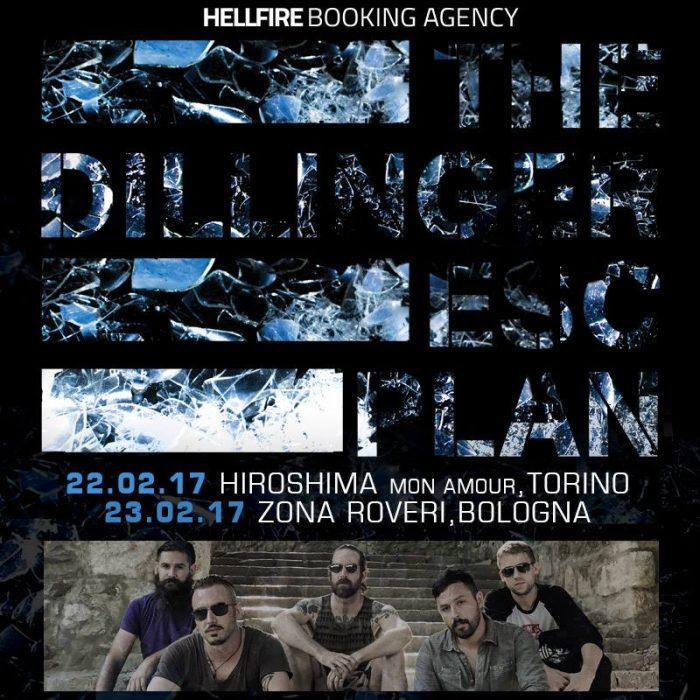 The Dillinger Escape - Tour 2017 - Promo