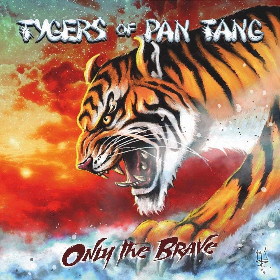 Tygers Of Pan Tang - Only The Brave - Album Cover